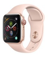 Apple Watch Series 4 GPS+CELL 40mm Gold Aluminum  Pink Sand Sport White Box - $449.95