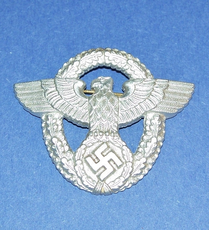 Original WW2 German Police Cap Badge, 2nd And 22 Similar Items