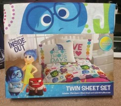 Disneys Inside Out Twin/Single Size Sheet Set - $38.00
