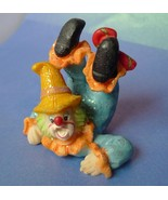 Vintage Al Hana Dubai Funny Circus Clown Figurine Decor Collectibles Souvenir - $15.00