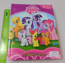 MY LITTLE PONY STORYBOOK BOARD BOOK MY BUSY BOOKS w/ Playmat *NO FIGURES* - $6.00