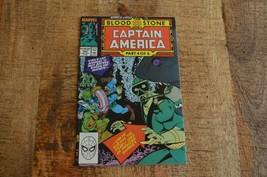 Captain America #360 (Marvel Comics, 1989) Crossbones 1st full appearanc... - $19.34