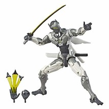 Hasbro Overwatch Ultimate Chrome Genji Figure - $28.09