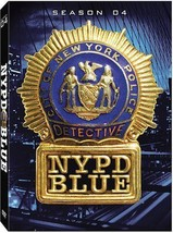 NYPD BLUE Complete Fourth SEASON 4 Four DVD Set Series TV Show Dennis Fr... - $30.68