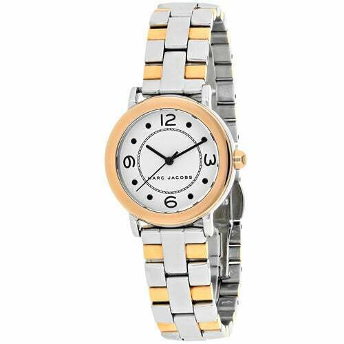 Marc Jacobs Riley Ladies Two Tone Rose Gold Silver Stainless Steel MJ3540 Watch - $143.16