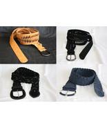 Unisex Luxury Comfort Braided Casual Velvet Wide Belt Fashion 3 Style 3 ... - $9.99