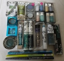 Hard Candy Eye Makeup Cosmetics BLUE & GREEN Shades Lot of 20 Different Pieces - $20.53
