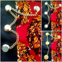 Men's Senator Stud Button Chains For Traditional Top Shirt . Isiagu Top - $20.99