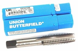 LOT OF 2 NEW UNION BUTTERFIELD 1010106 PLUG HAND TAPS 9/16X12 H3 4F image 1