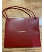 "Cartier Red Paper Shopping Bag 10"" x 9"" x 3.5"" - $13.99"