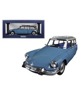1967 Citroen ID 19 Break Monte Carlo Blue 1/18 Diecast Model Car by Nore... - $96.83