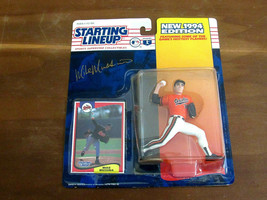 MIKE MUSSINA HOF ORIOLES YANKEES SIGNED AUTO VTG 1994 STARTING LINEUP JS... - $148.49
