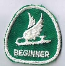 Vintage Sports Patch Canada Figure Skating Beginner Level Merit Badge - $2.84