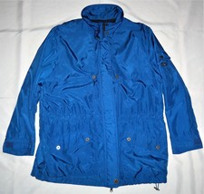 Ralph Lauren Sailing/Yachting Foul Weather Jacket Blue Double Closure 46R - $29.19