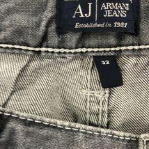 Armani Men's Gray Jeans Straight 32 image 6