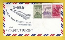 X-24B FIRST CAPTIVE FLIGHT EDWARDS CA JULY 19 1973 - $2.68