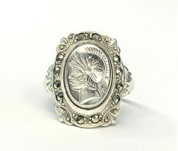 STERLING SILVER CENTURION RING #92893-12A - $36.62