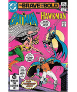 Brave and the Bold Comic Book #186 DC Batman and Hawkman 1982 NEAR MINT - $6.89