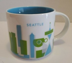 Starbucks Seattle You Are Here Coffee Mug Pre Owned No Box Washington Tr... - $19.06