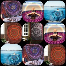 Mandala Tapestry Wall Hanging Decor Throw Bohemian Cotton Wholesale Lot ... - $1.406,20 MXN