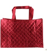 Joy Mangano 6 Pc Luxe Quilted Tote Hot Hot Pink NEW 404-644 - $16.81