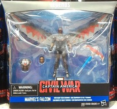 Marvel Legends Series Civil War Falcon 3.75 Figure - $29.26