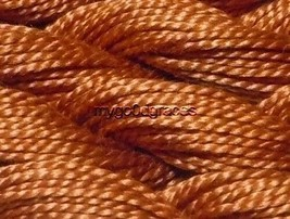 DMC Pearl Cotton Size 5 Color #301 Medium Mahogany - $1.70
