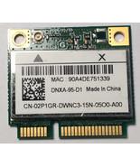 "Dell Inspiron 15.6"" N5030 OEM WiFi Wireless Card AR5B95 DNXA-95-D1 2P1GR... - $6.92"