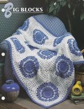 Big Blocks, Annie's Crochet Quilt & Afghan Pattern Club Leaflet QAC375 - $14.95