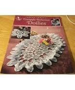 Annie's Attic Thread Crochet #872011 PINEAPPLE PERFECTION DOILIES (5) Pr... - $3.99