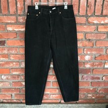 Levi's 550 Relaxed Fit Black Denim Jeans Size W33 L34 Red Tab Zip-Fly Worn Once - $18.79