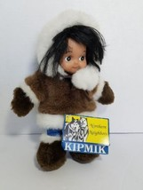 Kipmik Northern Neighbors Alaskan Eskimo AQPIK Plush Stuffed Doll - $9.69