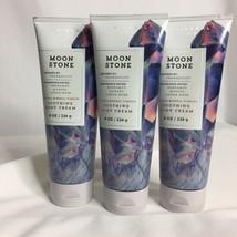 Bath & Body Works Moon Stone Soothing Body Cream 8 oz Lot of 3 - $26.35