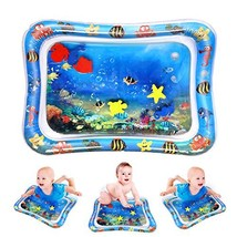 YABOT Premium Inflatable Tummy Time Water Mat for Infants & Toddlers, Baby Play