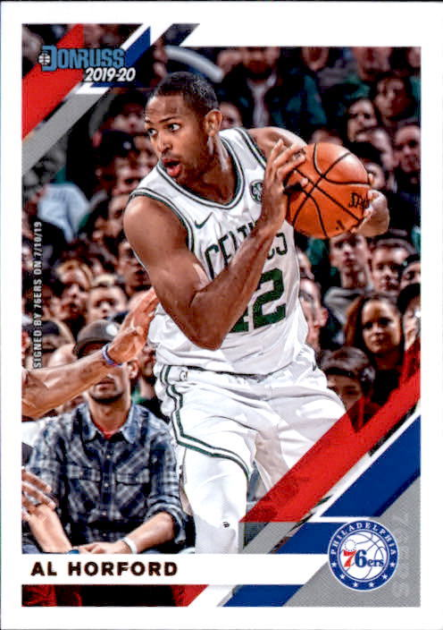 Primary image for Al Horford 2019-20 Donruss Card #10
