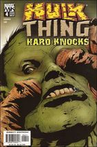 Marvel HULK & THING: HARD KNOCKS #4 VF/NM - $1.99
