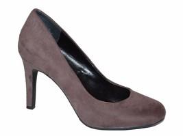 Kelly & Katie ISABELLA KK Women's Gray Shoes Heels Size 7M Faux Suede  - $23.36
