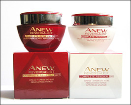 Avon Anew Reversalist Complete Renewal Day Cream SPF 25 or Night Cream 50 ml - $9.99