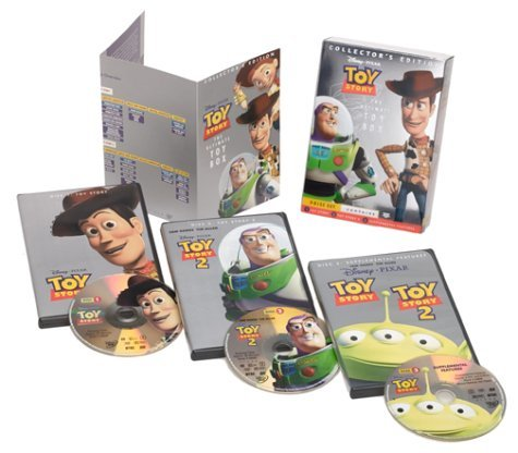 Disney Toy Story Ultimate Toy Box Collector's Edition [DVD]