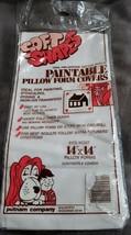 "Putnam SOFT SHAPES Paintable Pillow Form Covers Pack/2 Pre-shrunk 14"" x ... - $10.38"