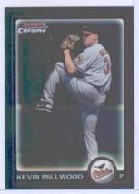 2010 Bowman Chrome Baseball Card # 179 Kevin Millwood - Baltimore Orioles - MLB  - $0.01