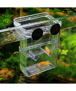 Multifunctional Fish Breeding Isolation Box Incubator for Fish Tank Aqua... - $19.95