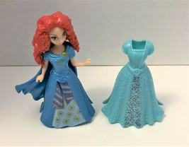 Disney Princess Polly Pocket Style Floral Magiclip Dress Merida From Brave - $13.72