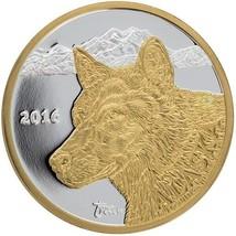 Alaska Mint Official 2016 State Medallion Gold & Silver Medallion Proof ... - $121.76