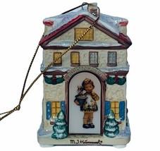 Hummel Christmas ornament figurine goebel Bavarian Bradford warm winter ... - $29.65