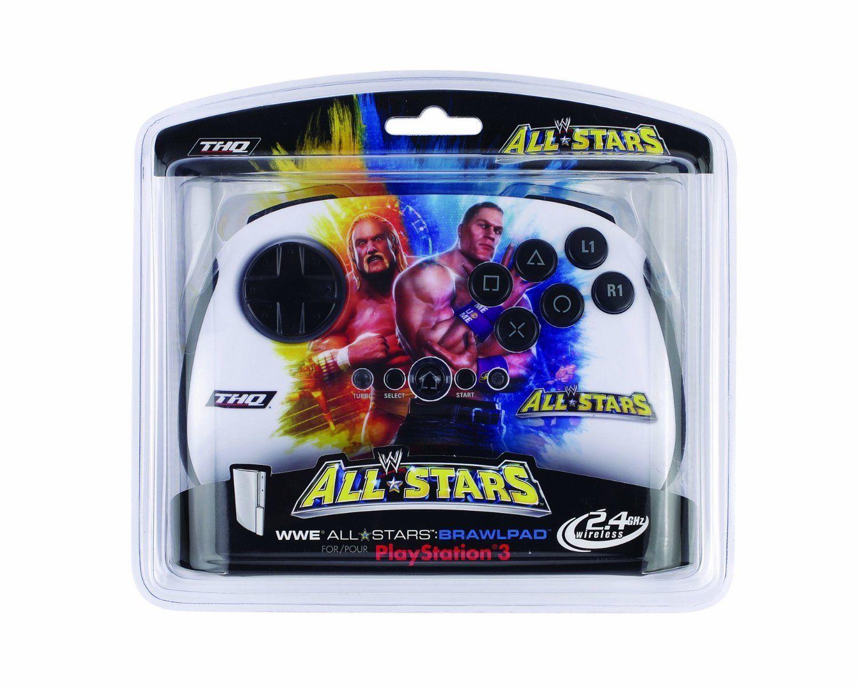 NUOVO WWE All-Stars Brawl Tappetino COMBATTIMENTO PS3 CONTROLLER WIRELESS HULK