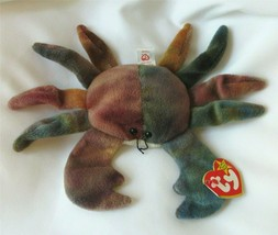 Ty Beanie Babies Baby Crab CLAUDE Retired Rare Pellets Mint Condition New 1999 - $150.00