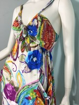 Jams World Sun Rainbow Rose Dress Size XS Summer Festival Concert Cruise Hawaii - $50.98
