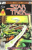 Classic Star Trek Comic Book #2 Marvel Comics 1980 FINE - $3.99