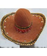 Sombrero hat mexican bandit costume mummers parade halloween - $29.95